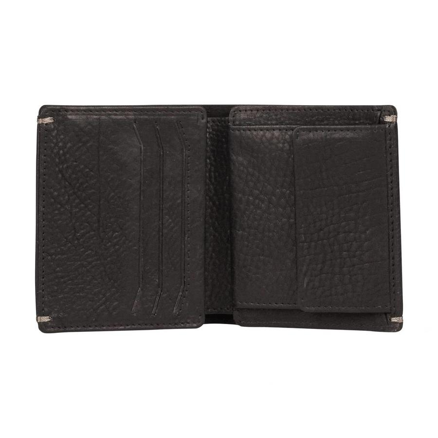 Burkely Heren Billfold Portemonnee High Coin Zwart