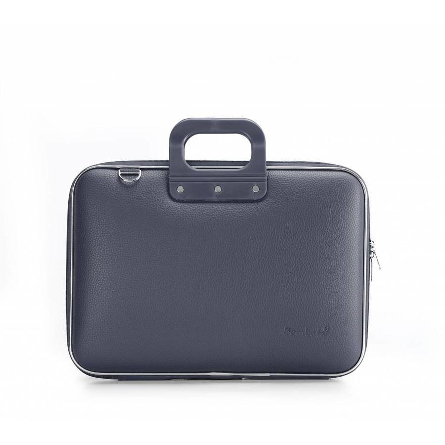 Bombata Classic Hardcase Laptoptas 15 inch Charcoal Grijs