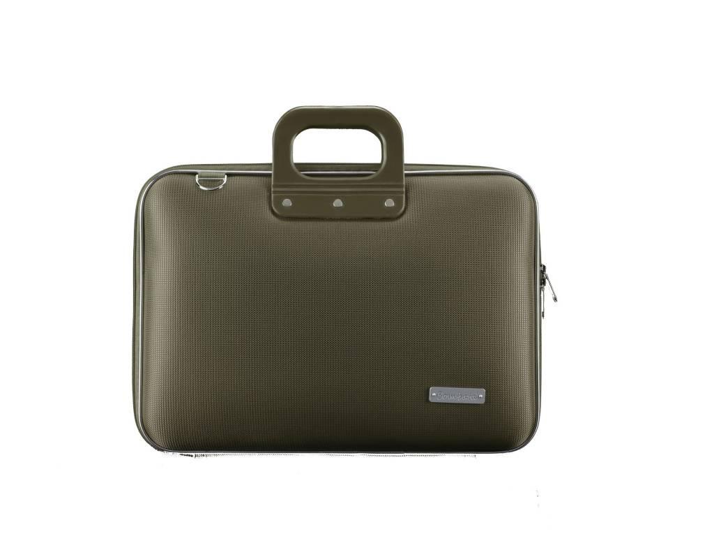 Bombata Nylon Laptoptas 15,6 inch Green