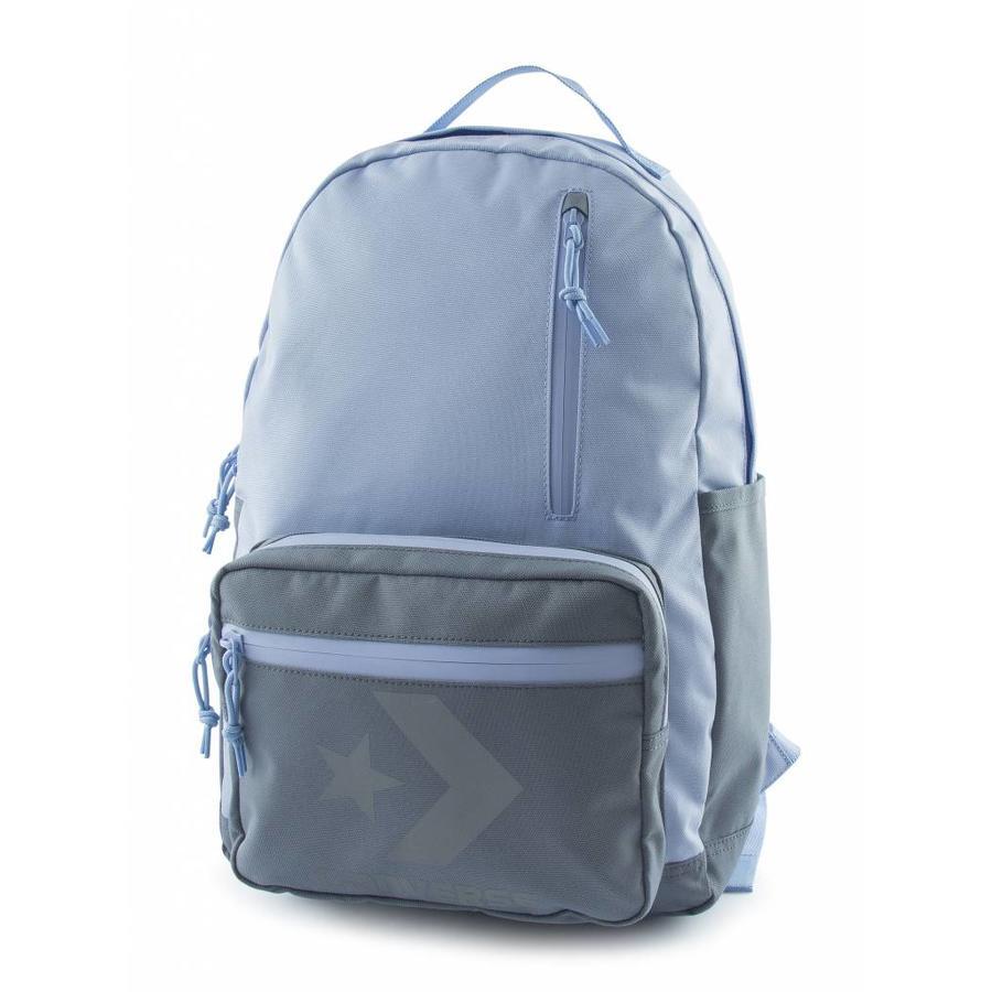 Converse Block Essential Backpack Blue/Grey