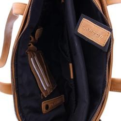 Plevier Leren Dames Laptoptas 15,6 inch Cognac