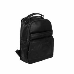 Chesterfield Bags Leren Laptop Rugzak Austin Zwart