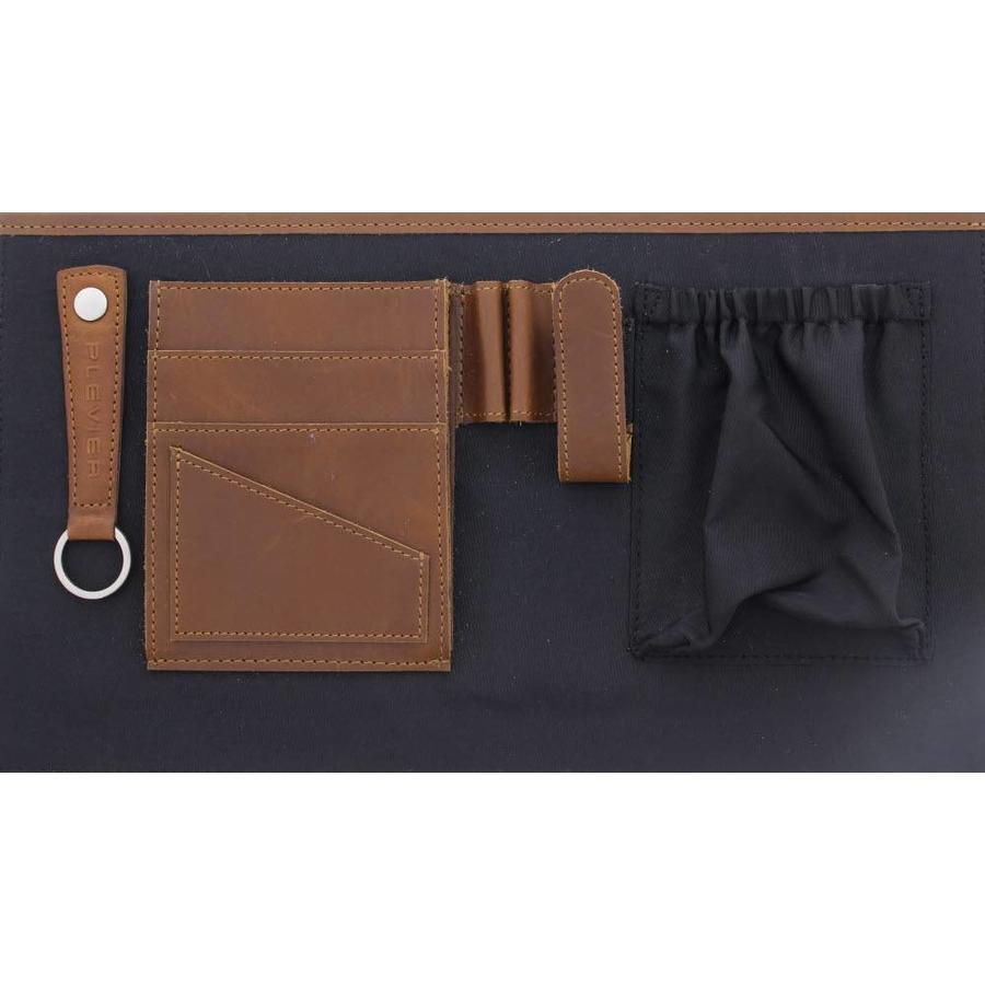 Plevier Tacan Leren Laptoptas 14 inch Bruin