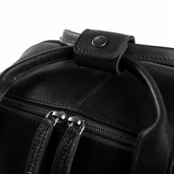 Chesterfield Bags Leren Laptop Rugzak Belford Zwart
