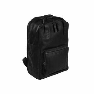 Chesterfield Chesterfield Bags Leren Laptop Rugzak Belford Zwart