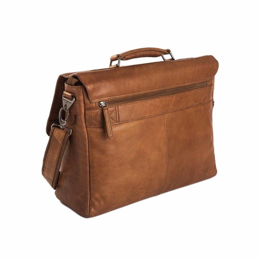 Chesterfield Leren Laptoptas 15 inch Belfast Cognac