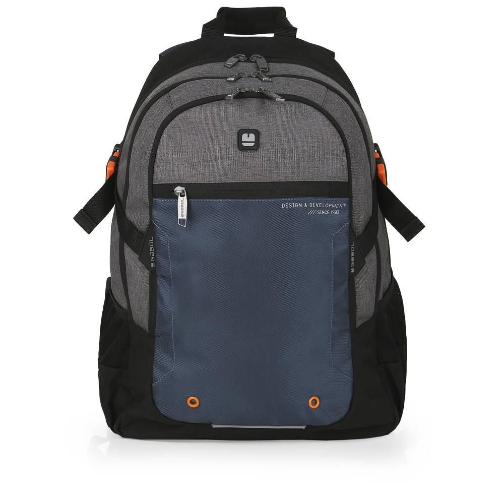 Gabol Laptop Rugzak Contact Zwart