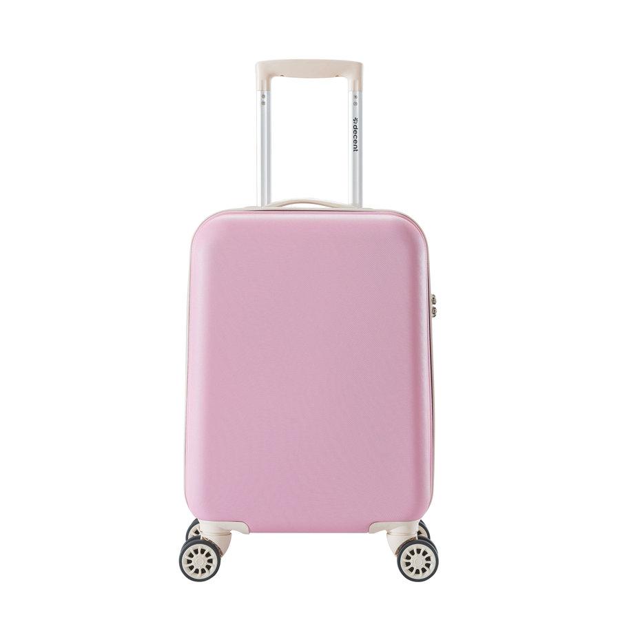1613ea720ec Decent Star Maxx Handbagage Trolley Koffer 55 Pastel Roze ...