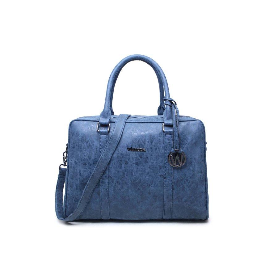 Wimona Luciana Dames laptoptas 15,6 inch Blauw