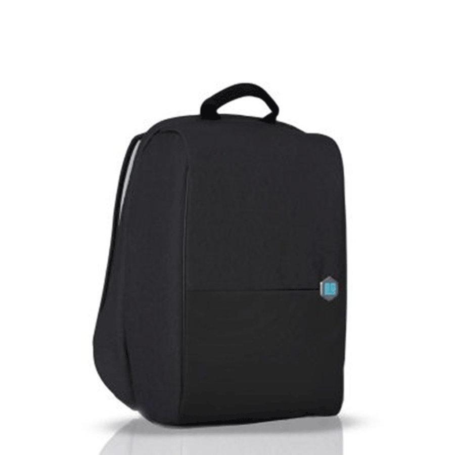 MetroBag 15 inch anti-diefstal rugzak Black Asphalt