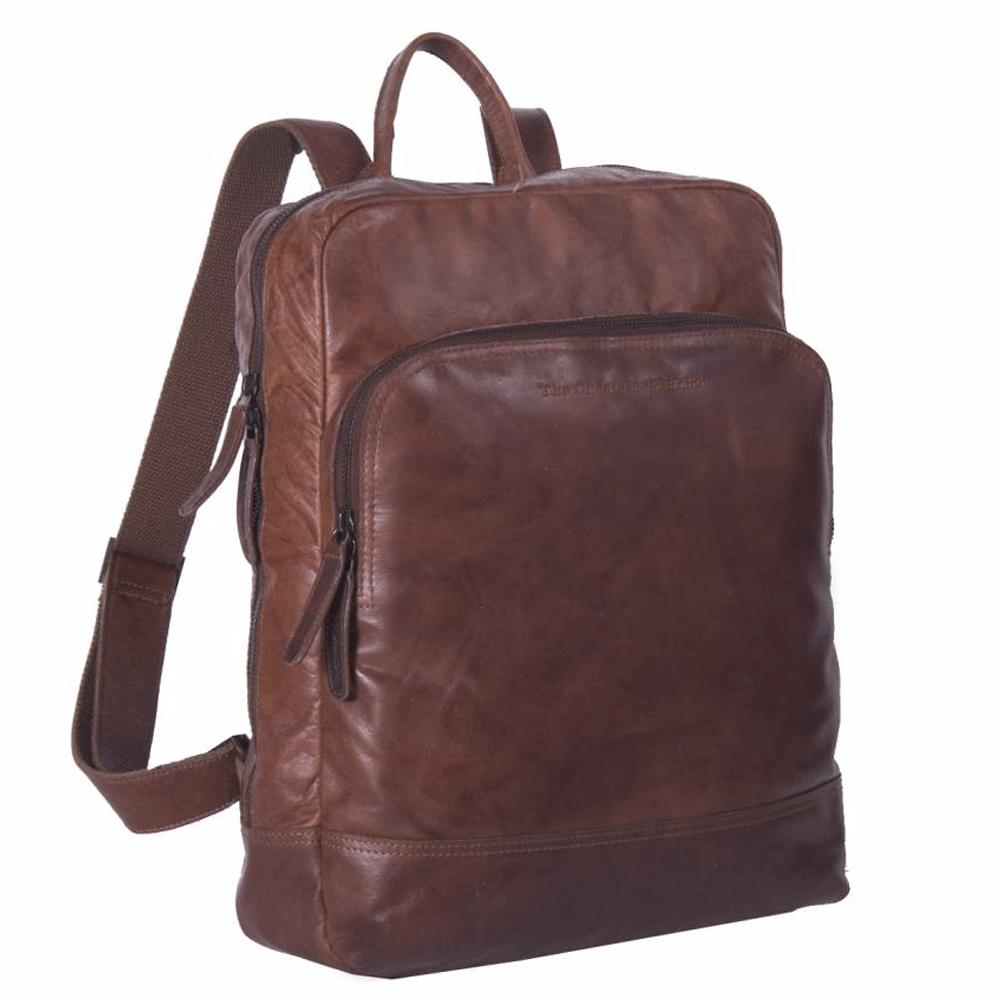 Chesterfield Bags Laptop Rugzak Mack Cognac