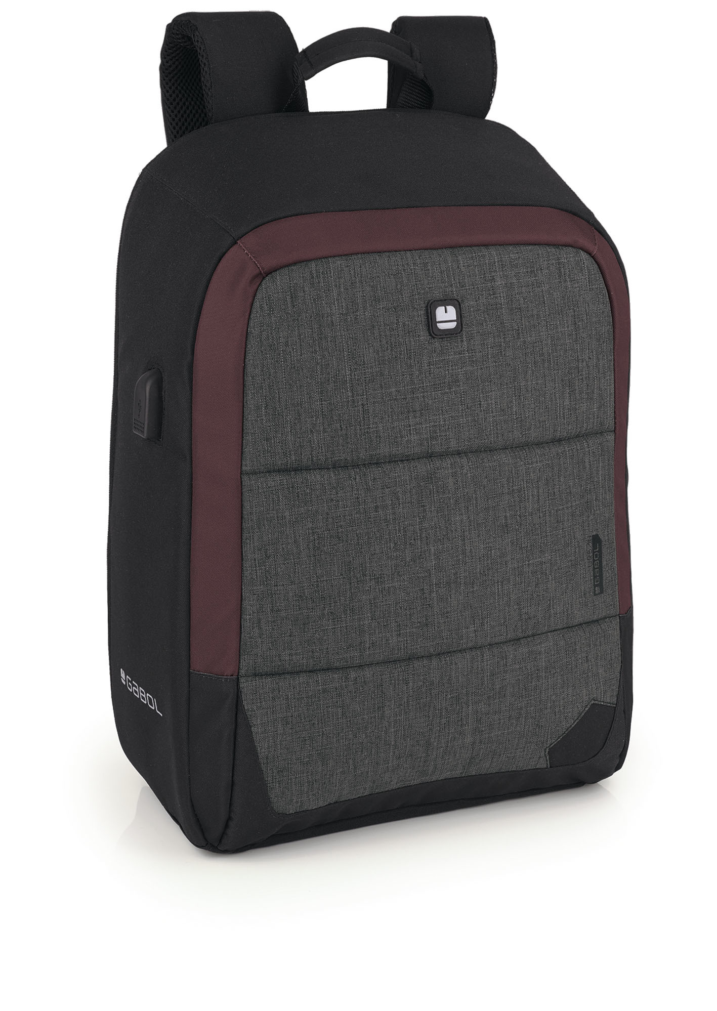 Gabol Anti Diefstal Laptop Rugzak 15 inch Direct Zwart