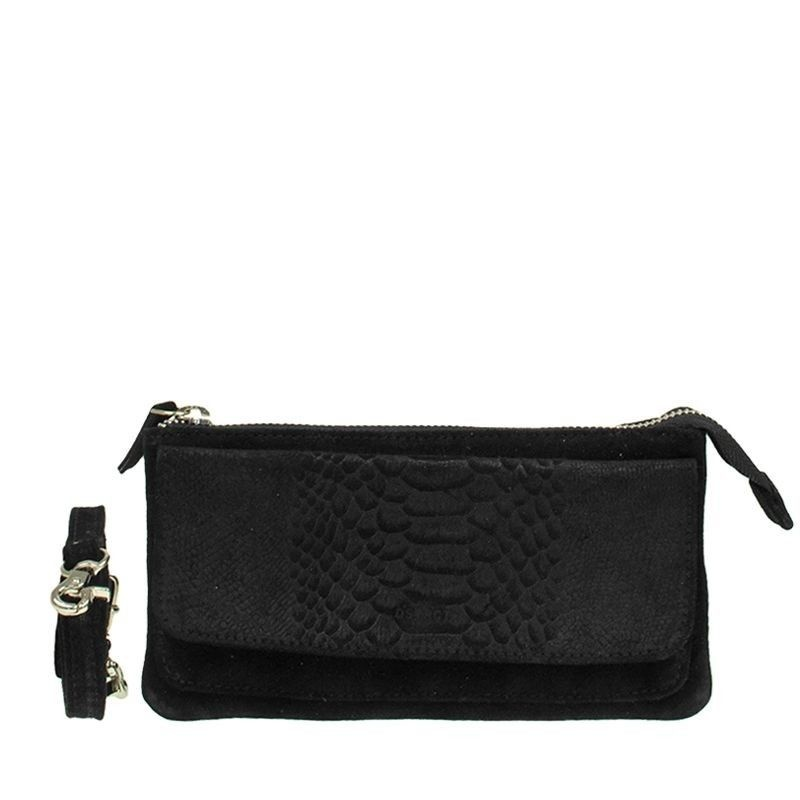 DSTRCT Portland Road Leren Clutch Black