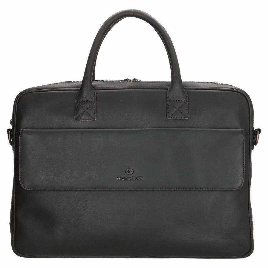 Micmacbags Colorado laptoptas 15,6 inch Zwart