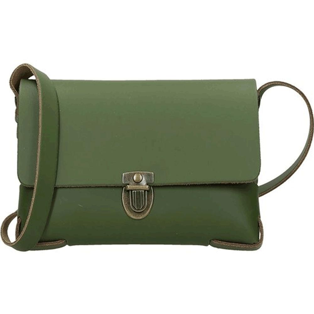 Elvy Bags Gloria  Plain Crossbody Green