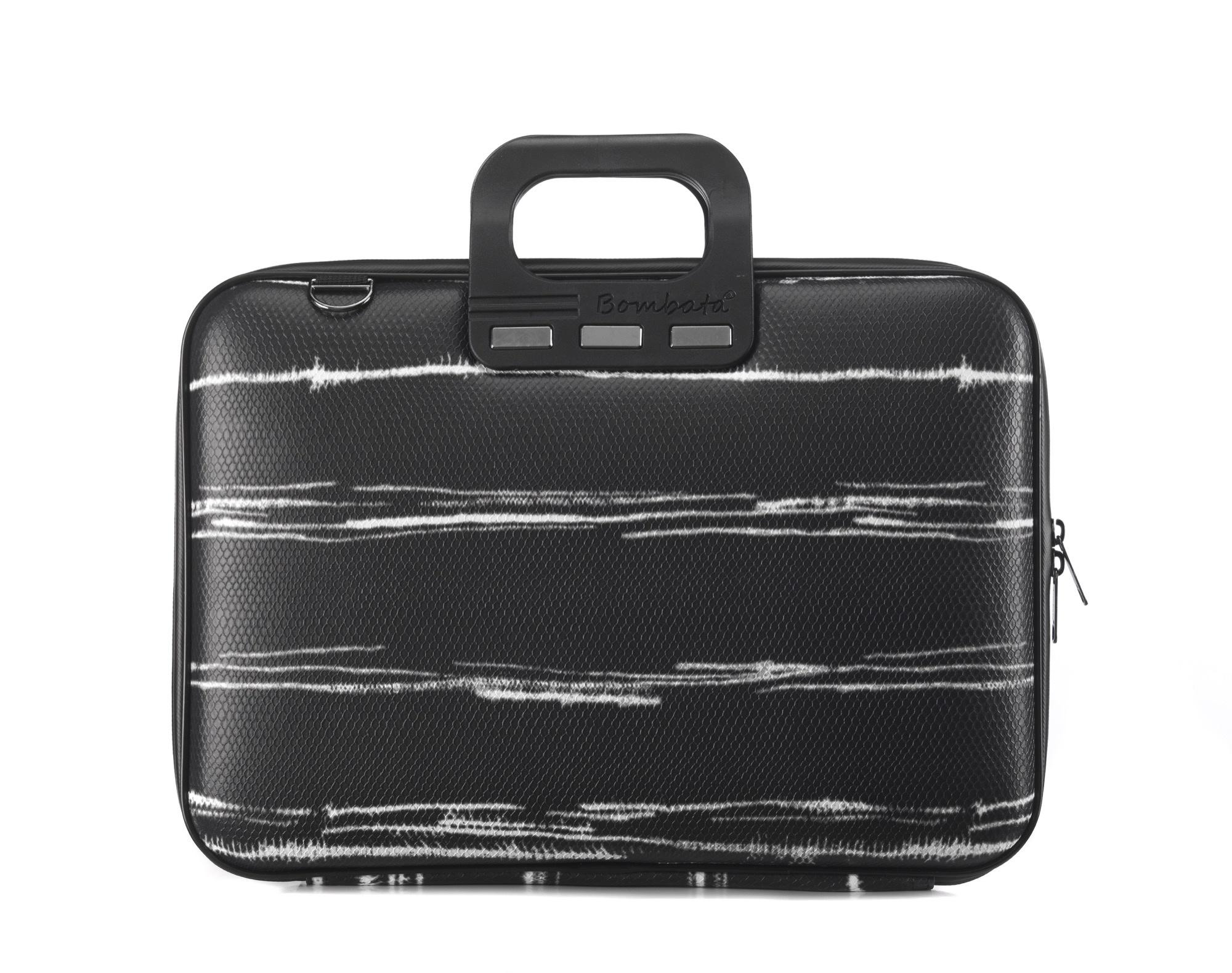 Bombata Black&White Laptoptas 15,6 inch Black