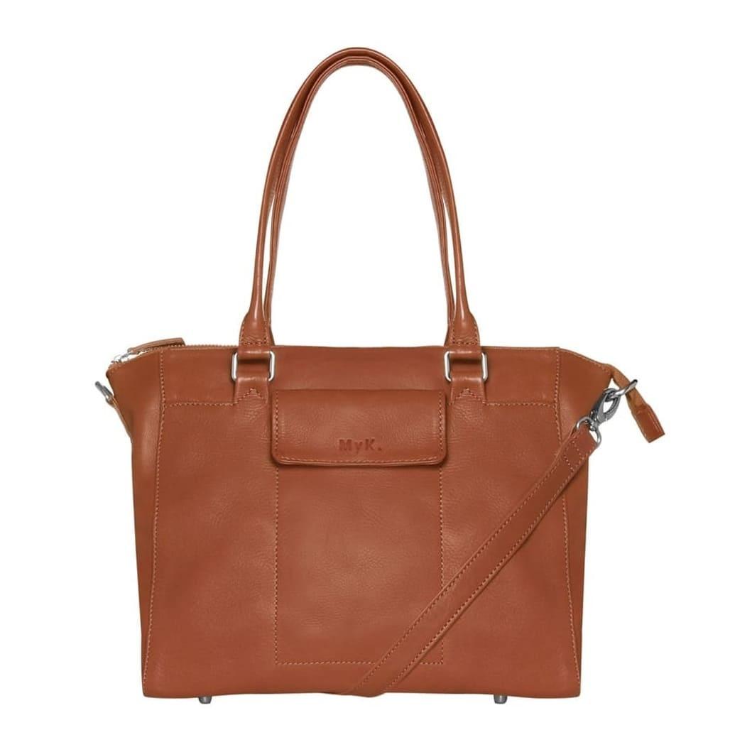 MyK. Bag Marlin Handtas Caramel