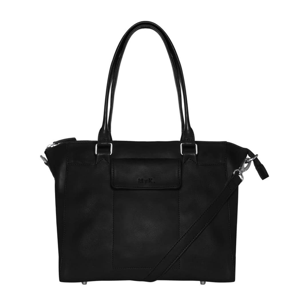 MyK. Bag Marlin Handtas Black