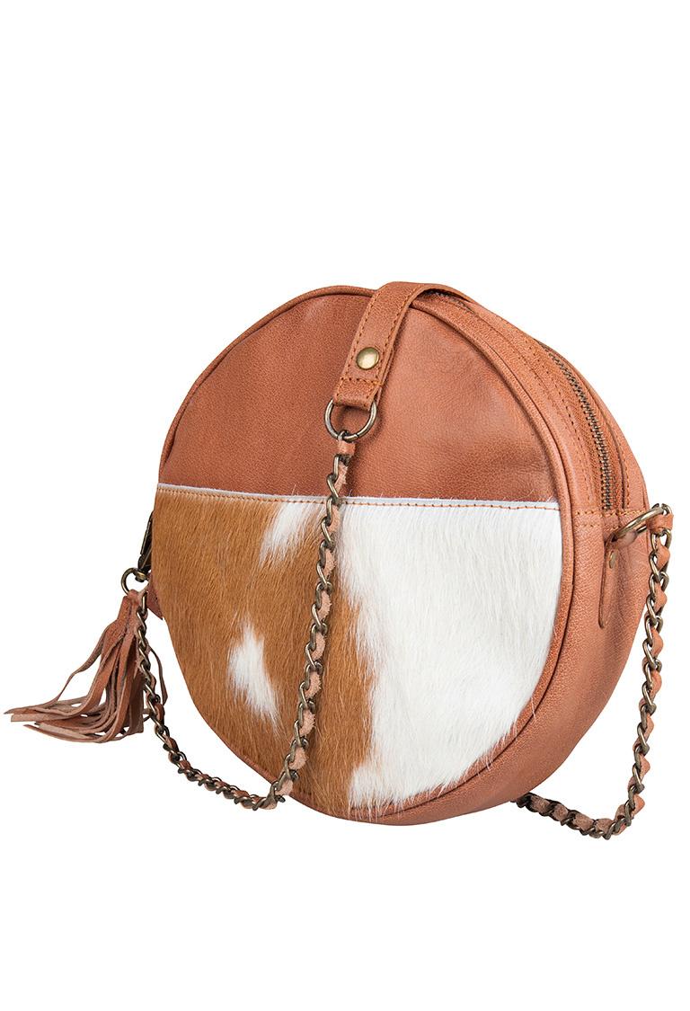 Chabo Bags Circle Bag Cow Camel