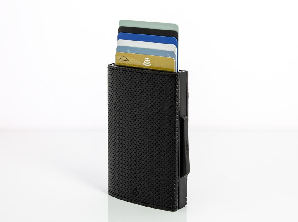 Ogon Cascade Wallet Traforato Black