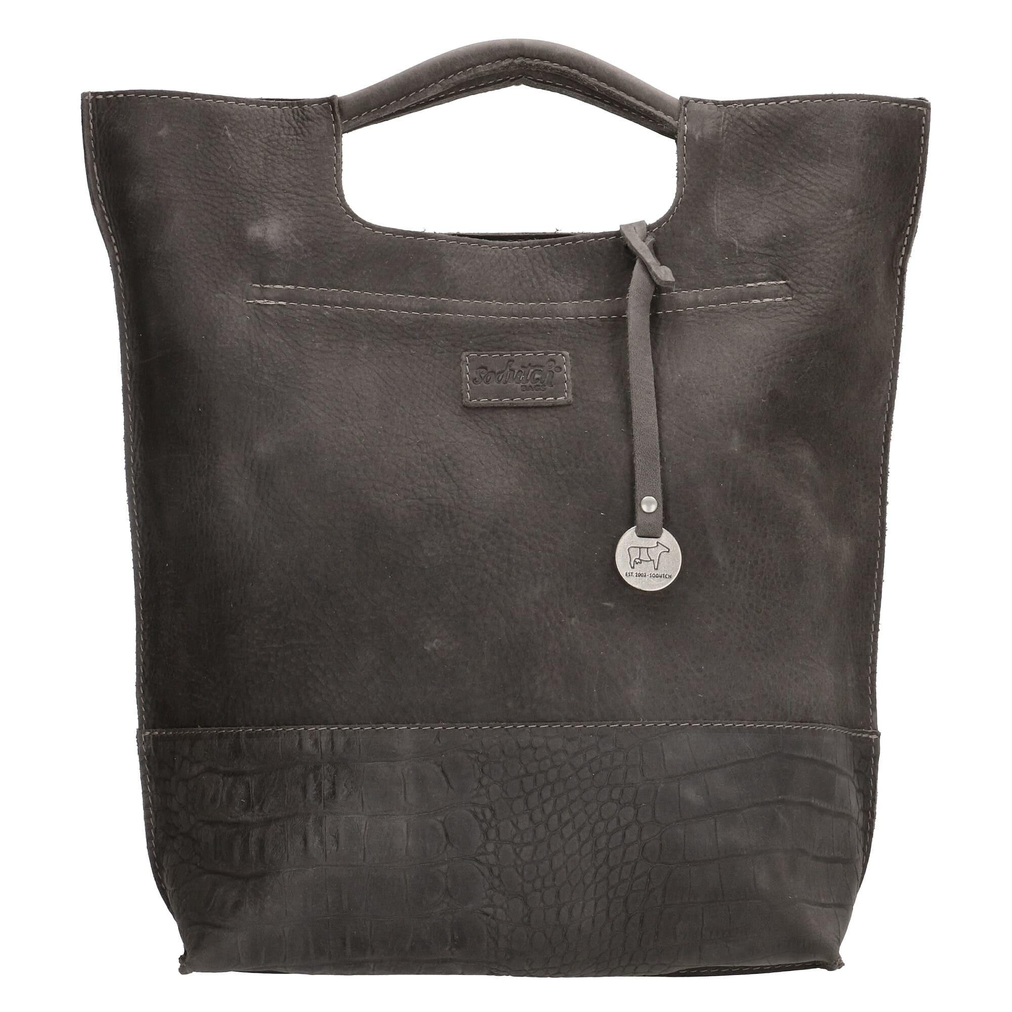 SoDutch Bags Handtas #08 Donker Grijs