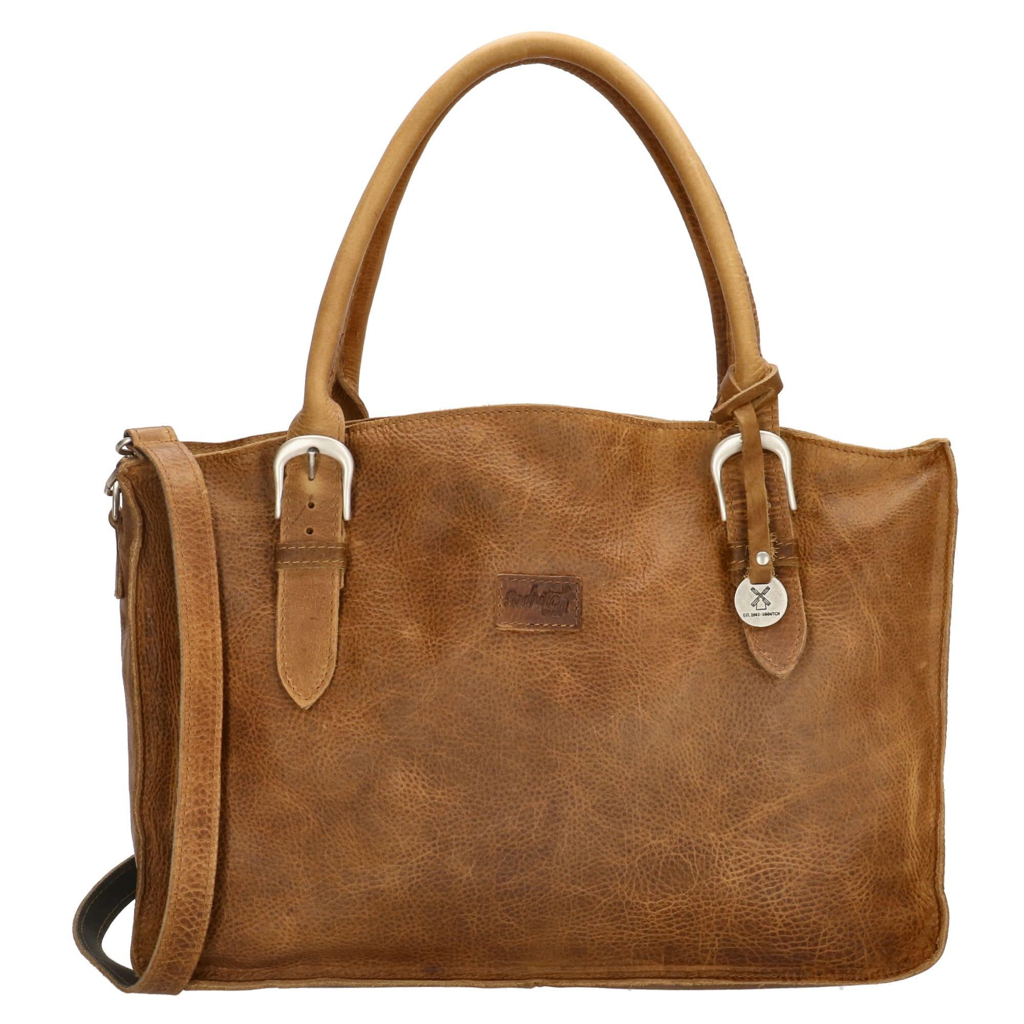 SoDutch Bags Laptoptas #09 Cognac