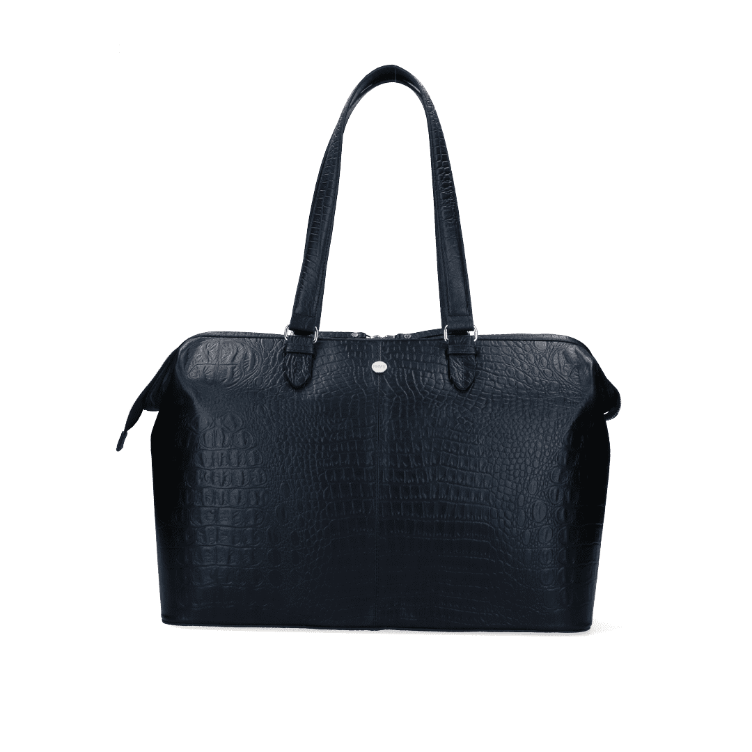 FMME Christy Laptoptas 15,6 inch Croco Black