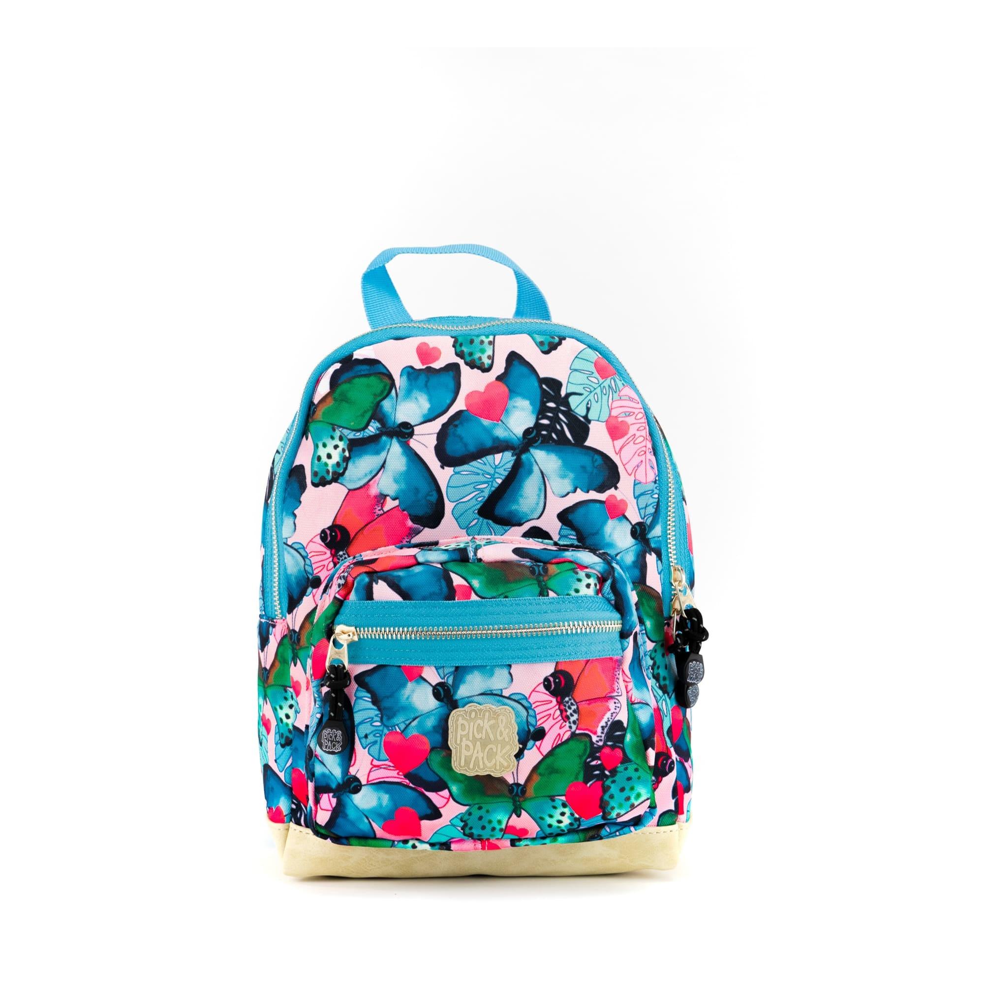 Pick & Pack Rugzak Butterfly S Multi Pastel
