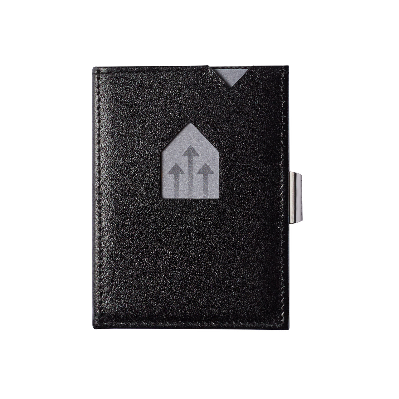 Exentri Leather Wallet Black