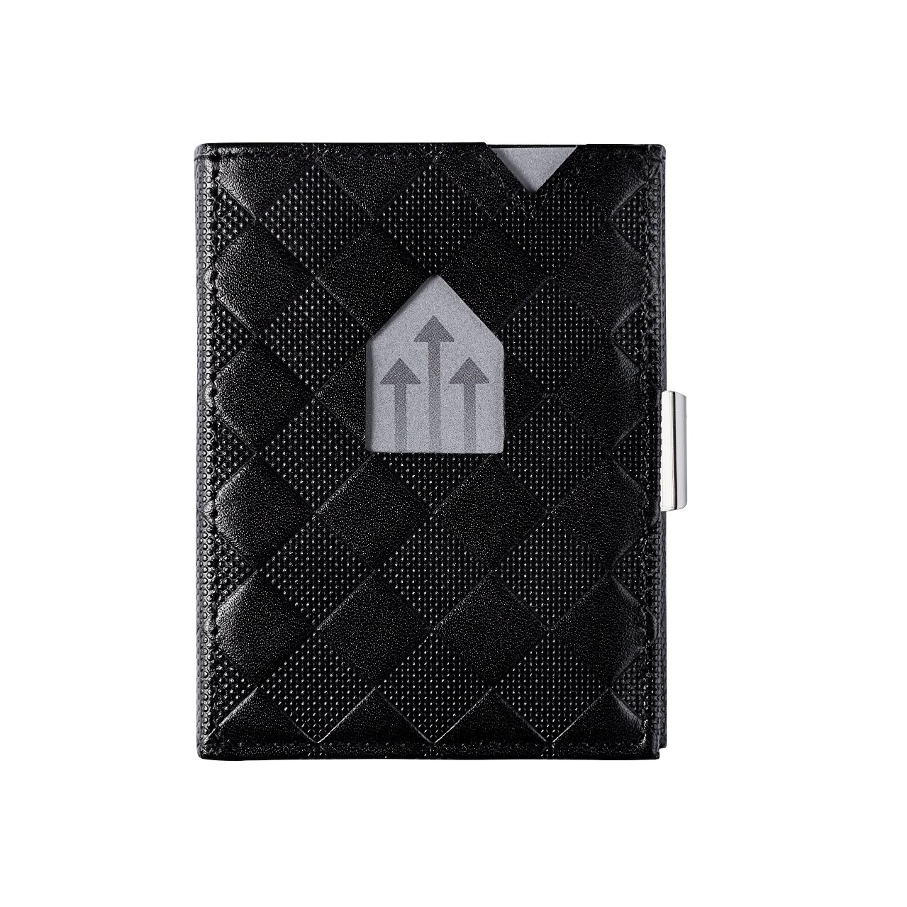 Exentri Leather Wallet black chess