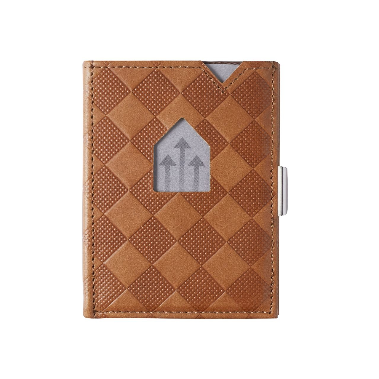 Exentri Leather Wallet Sand Chess