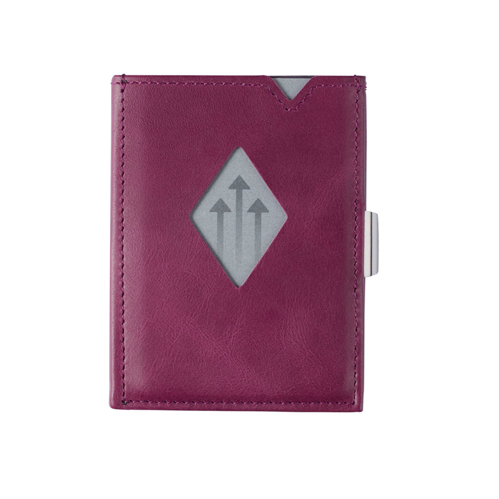 Exentri Leather Wallet Purple