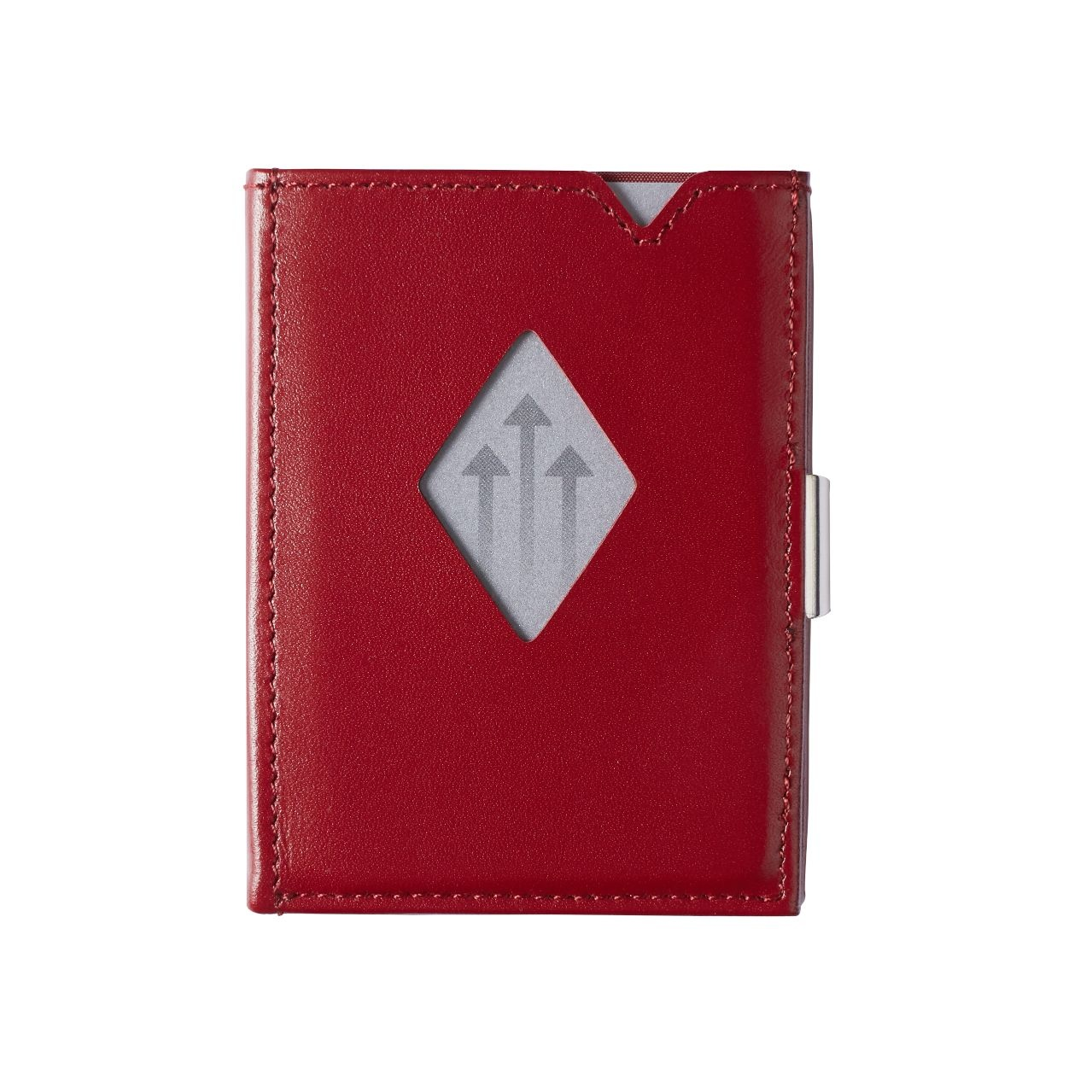 Exentri Leather Wallet red