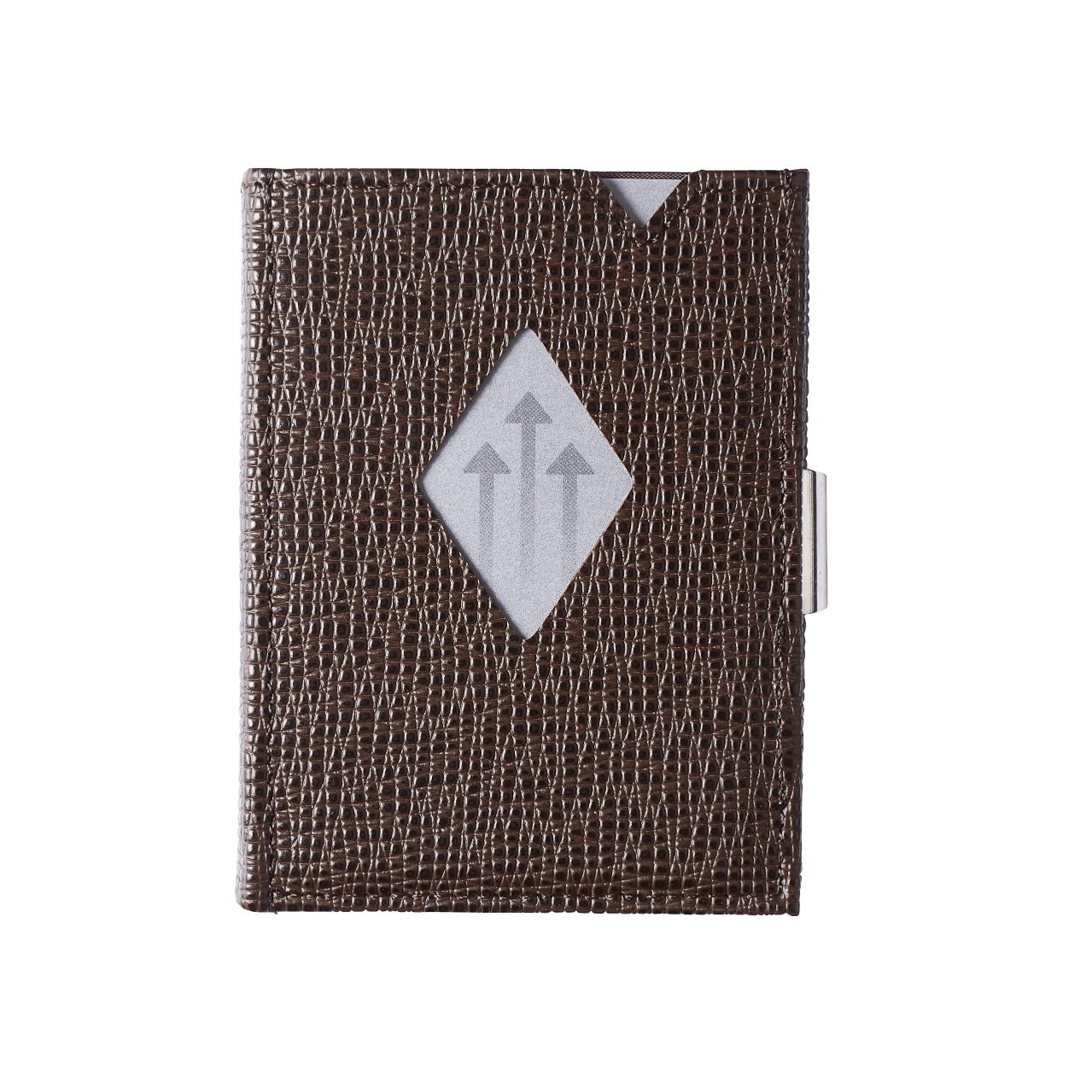 Exentri Leather Wallet Mosaic Brown
