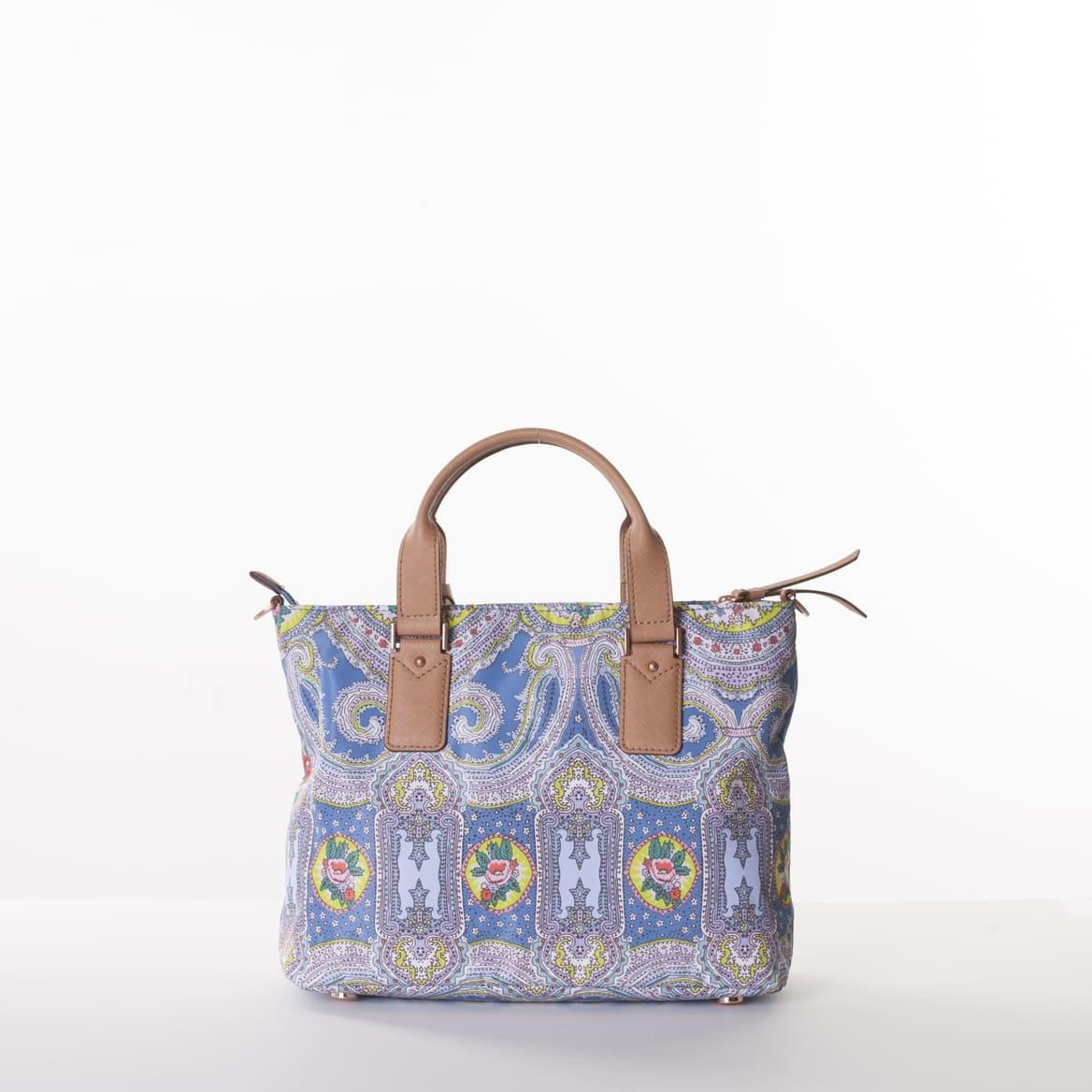 Oilily City Rose Paisley Handbag Riviera