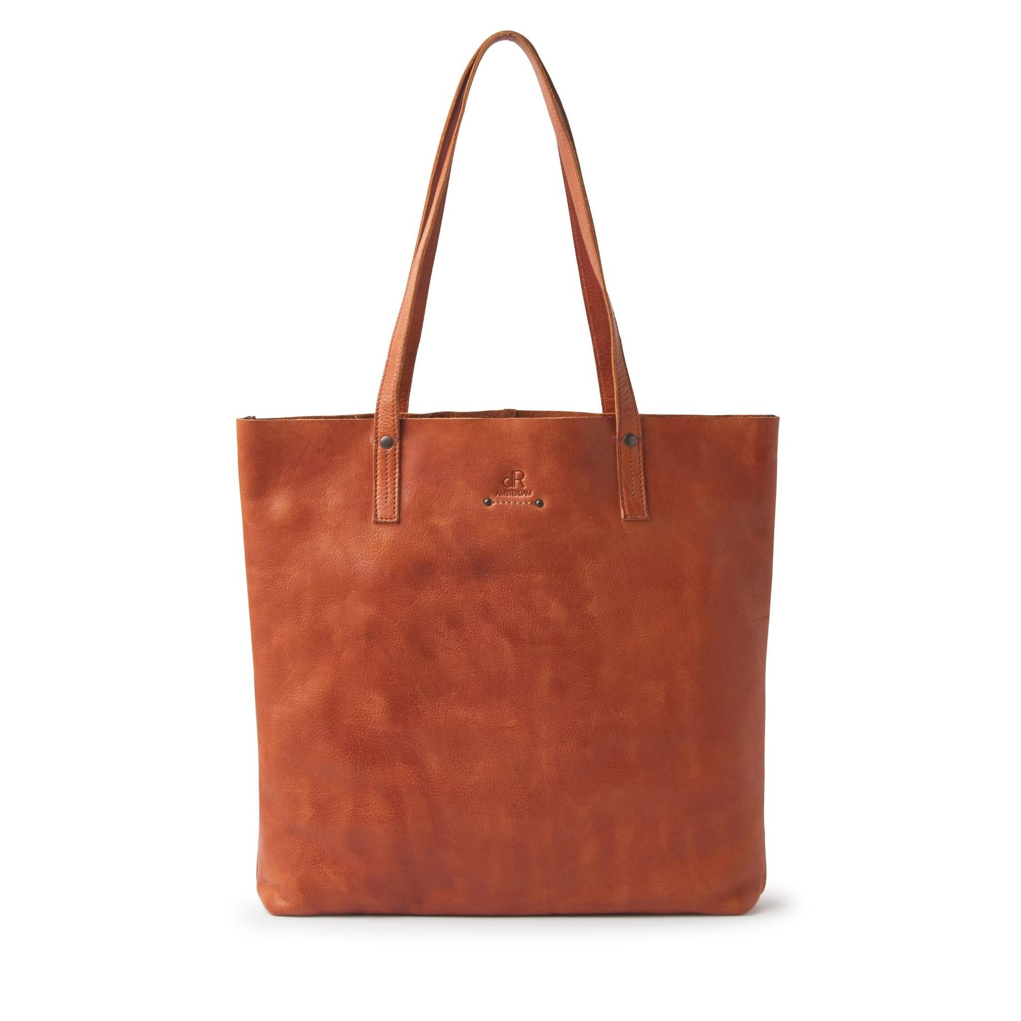 dR Amsterdam Leren Shopper 933550 Camel