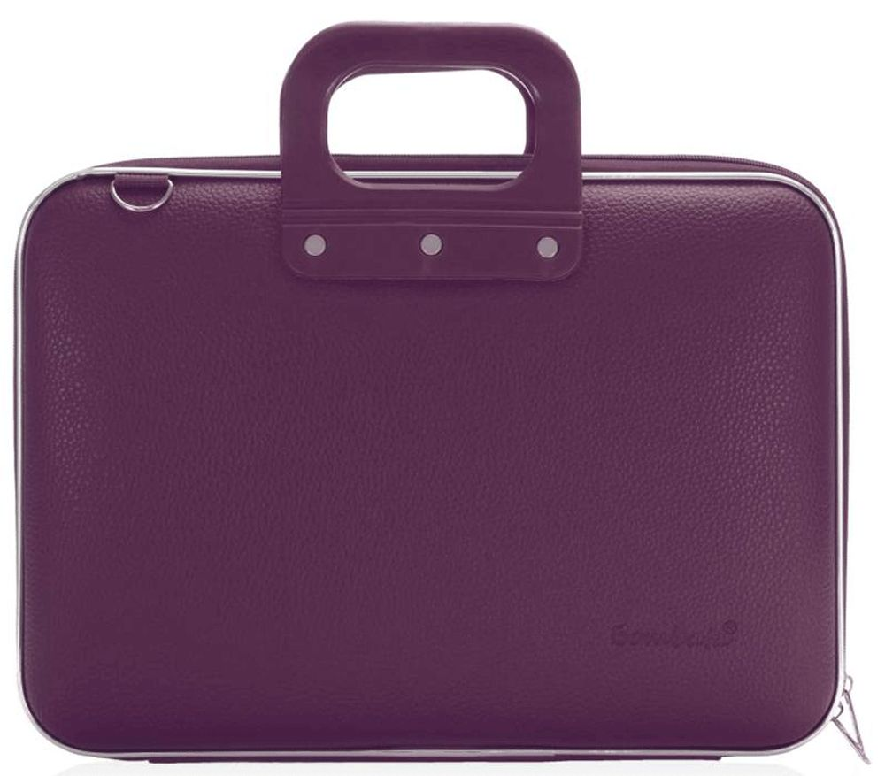 Bombata Maxi Hardcase Laptoptas 17 inch Plum Purple