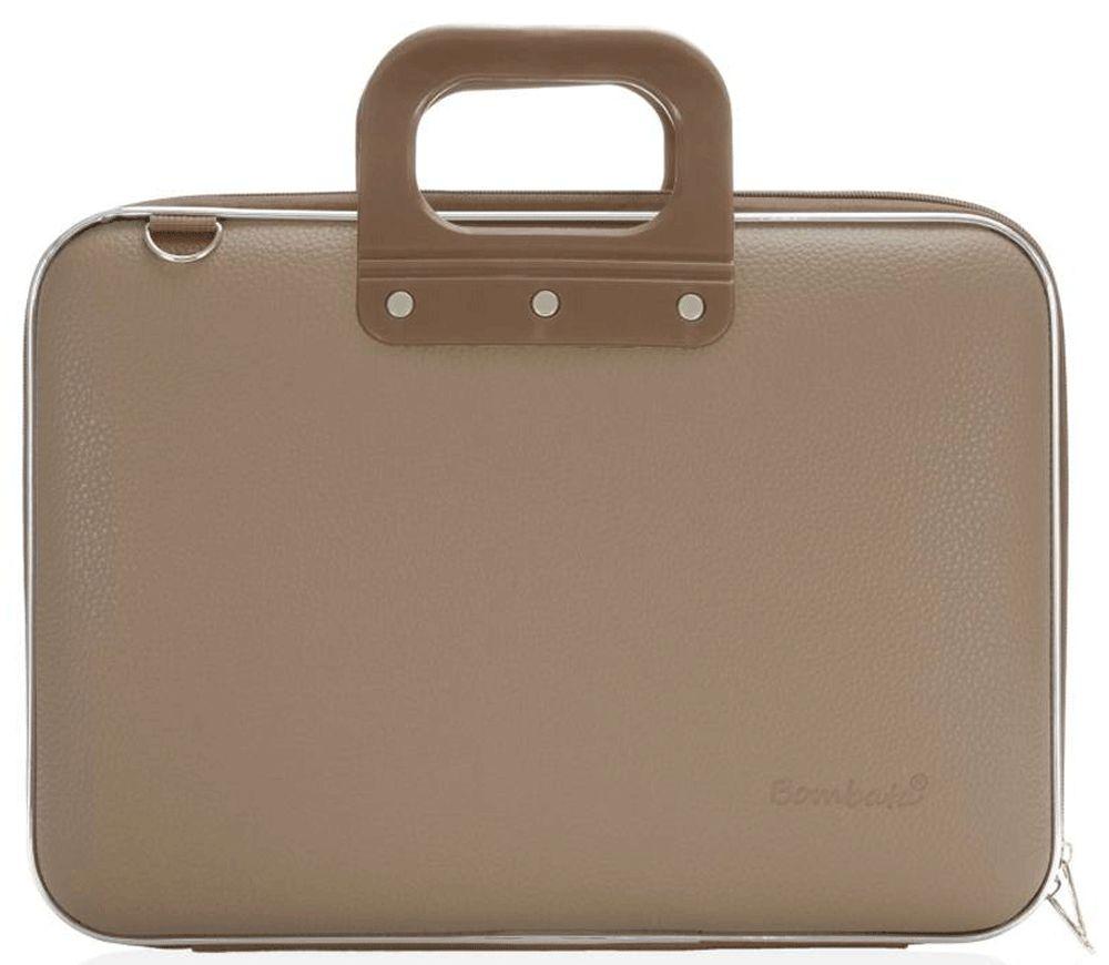 Bombata Maxi Hardcase Laptoptas 17 inch Taupe