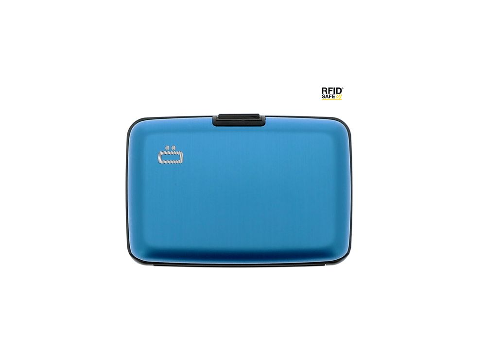 Ogon Aluminium Creditcardhouder Blue