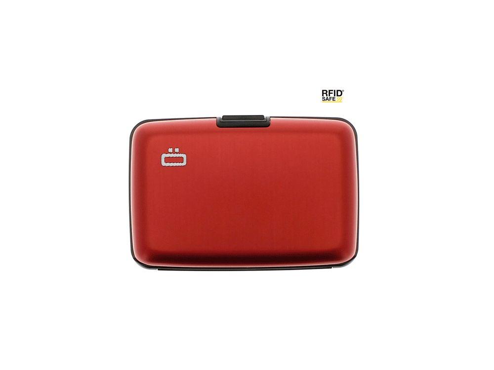 Ogon Aluminium Creditcardhouder Red