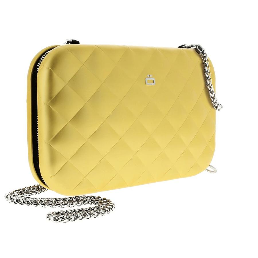 Ogon Clutch Quilted Lady Bag Gold