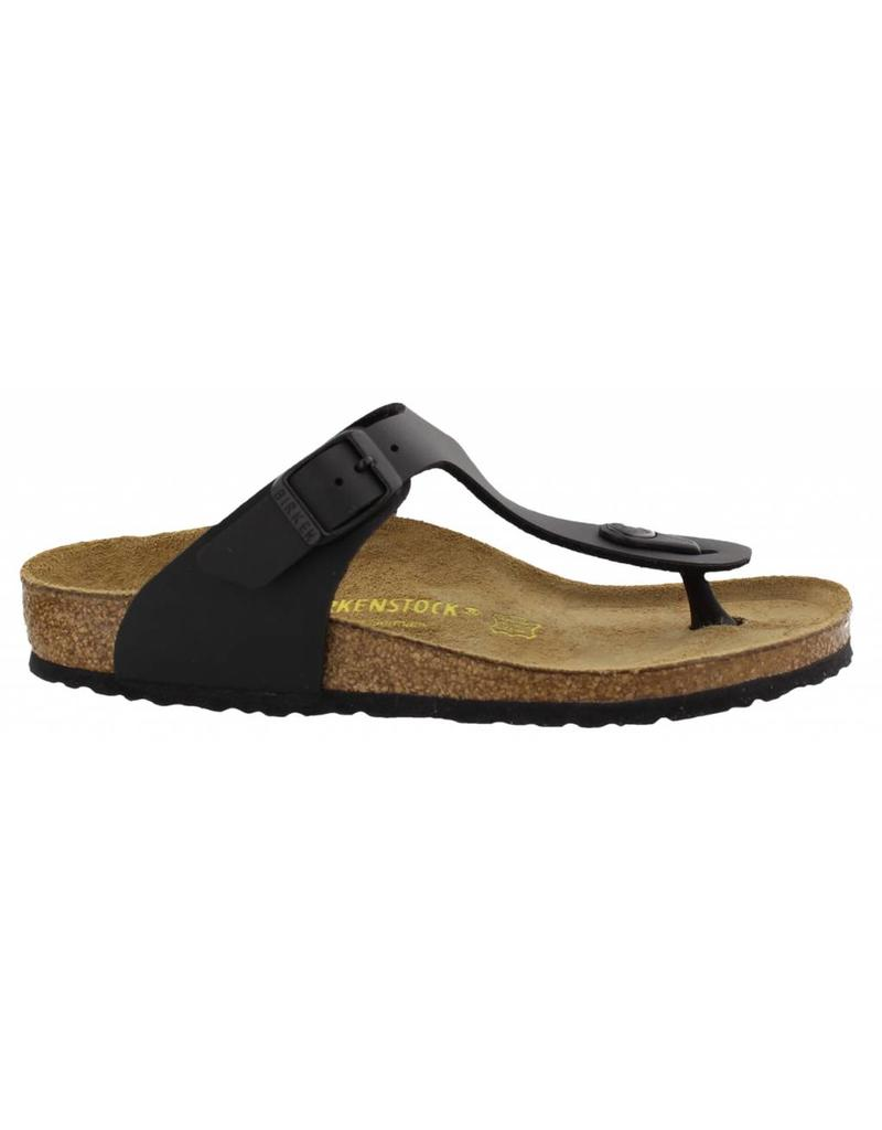 Birkenstock Gizeh zwart slippers kids