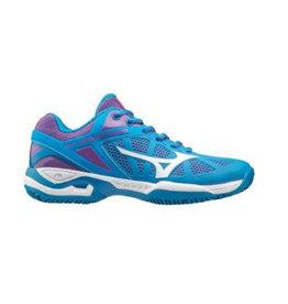 Mizuno Wave Exceed Tour (W) CC blauw tennisschoenen dames