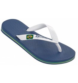 Ipanema Classic Brasil blauw wit slippers kids