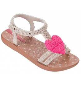 Ipanema My First Ipanema bruin roze slippers meisjes
