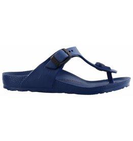 Birkenstock Gizeh Eva narrow blauw slippers kids