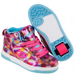 Heelys Flash 2.0 slangen roze metallic sneakers kids