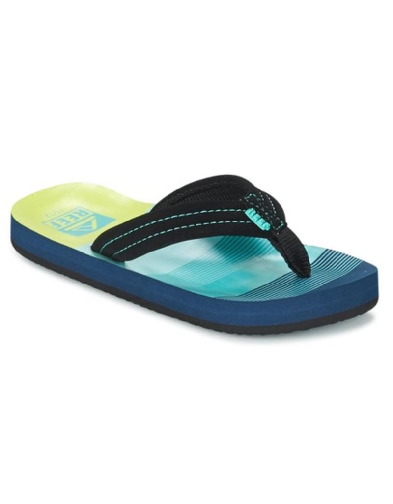 1f57d076765 Reef Little AHI aqua green slippers kids - outletsportschoenen.nl