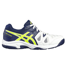 Asics Gel Game 5 GS blauw wit tennisschoenen kids