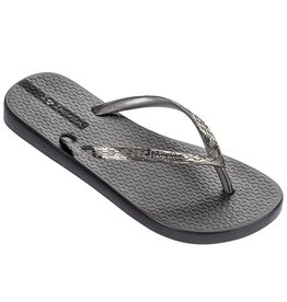 Ipanema Glam grijs zilver slippers dames